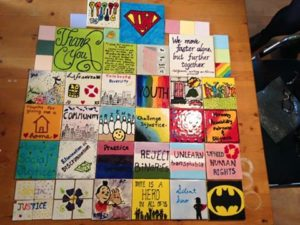 The Dalhousie School Of Social Work Youth Project Are Creating A Mosaic To Be Unveiled In March And We Need Your Help Each Tile This Will
